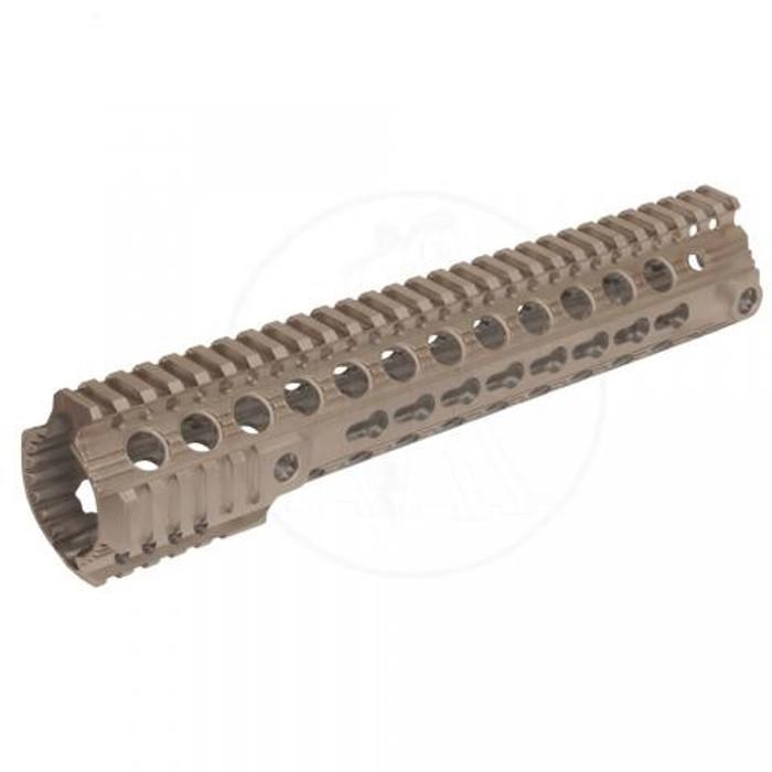 """Troy Ind. SDMR KeyMod Battle Rail 11"""" For AR15/M4 FDE"""