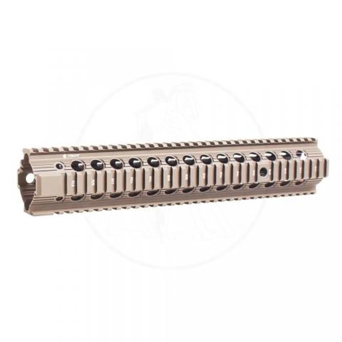 """Troy Ind. Bravo Rail 13"""" For AR15/M4 FDE"""
