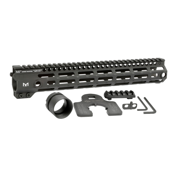 """Midwest Ind. G4 One Piece Free Float Handguard M-LOK 12.625"""""""