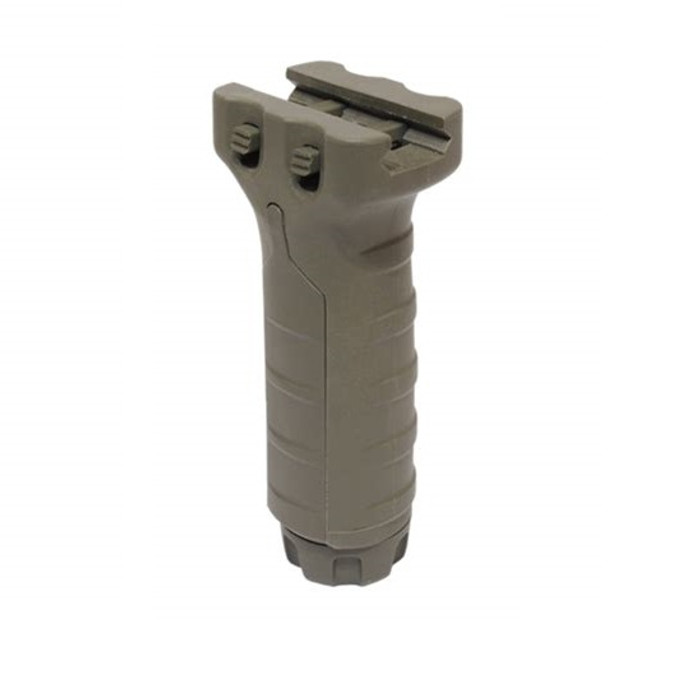 Tango Down Vertical Foregrip With Surefire Pocket Foliage