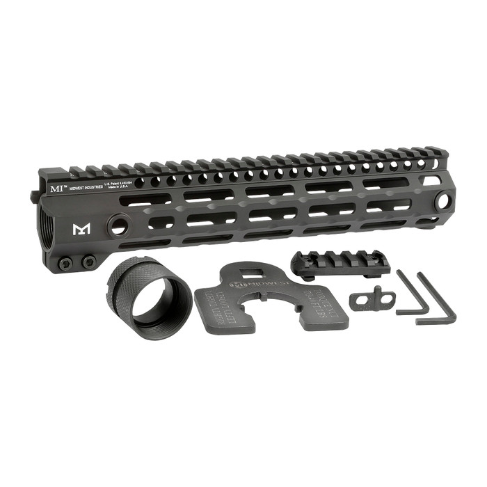 """Midwest Ind. G4 One Piece Free Float Handguard M-LOK 10.5"""""""