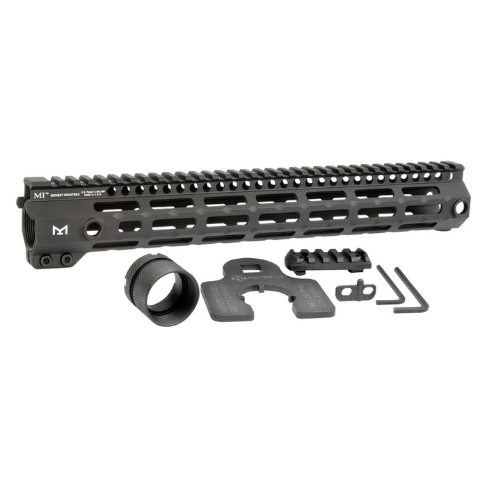"""Midwest Ind. G4 One Piece Free Float Handguard M-LOK 13.375"""""""