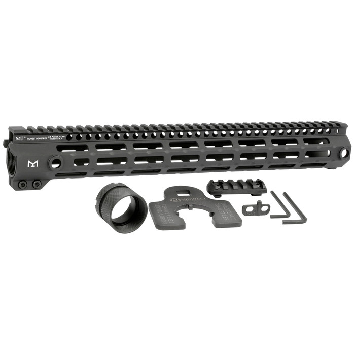 """Midwest Ind. G4 One Piece Free Float Handguard M-LOK 15"""""""