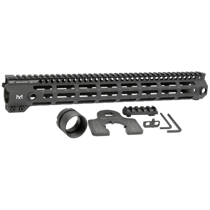 """Midwest Ind. G4 One Piece Free Float Handguard M-LOK 14"""""""