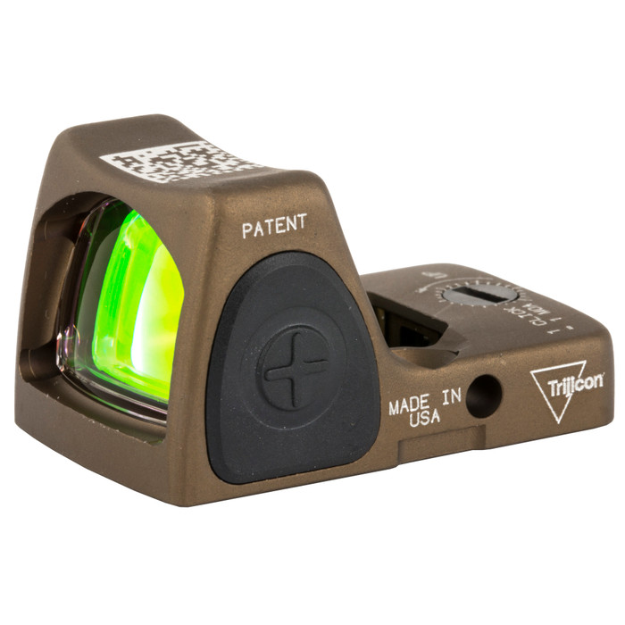 Trijicon RMR® HRS Type 2 Adjustable Red Dot Sight - 3.25 MOA Coyote Brown