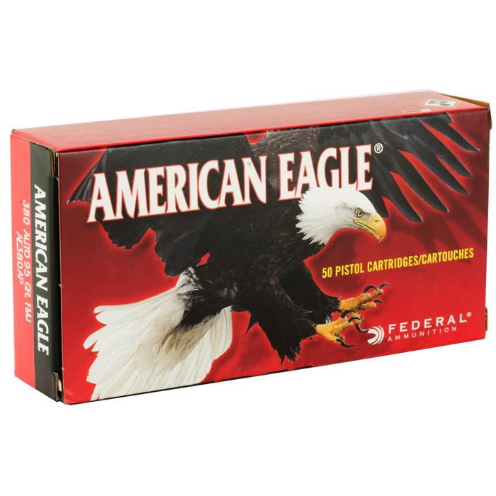 Federal American Eagle 380 Auto 95GR FMJ