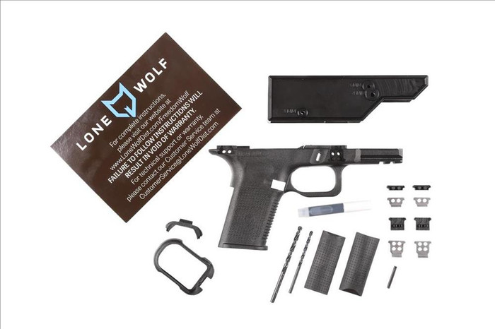 Lone Wolf Freedom Wolf 80% Frame Kit (Compact/Bare)