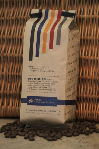 Back The Blue is roasted using Columbian Excelso 100% Arabica Beans