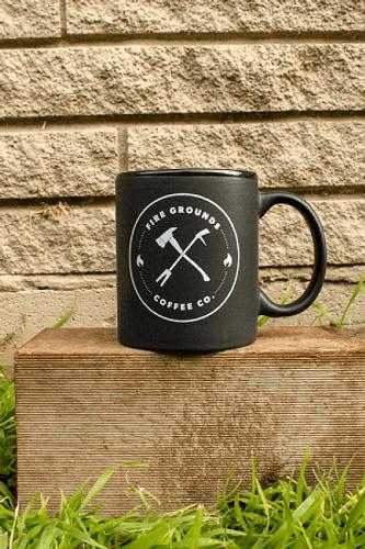 Our Mug features a black matte finish