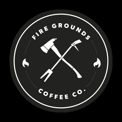 Fire Grounds Coffee Company Sticker