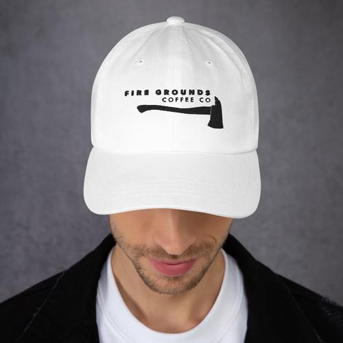FGCC White Ball Cap