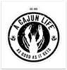 A CAJUN LIFE® Original Sticker