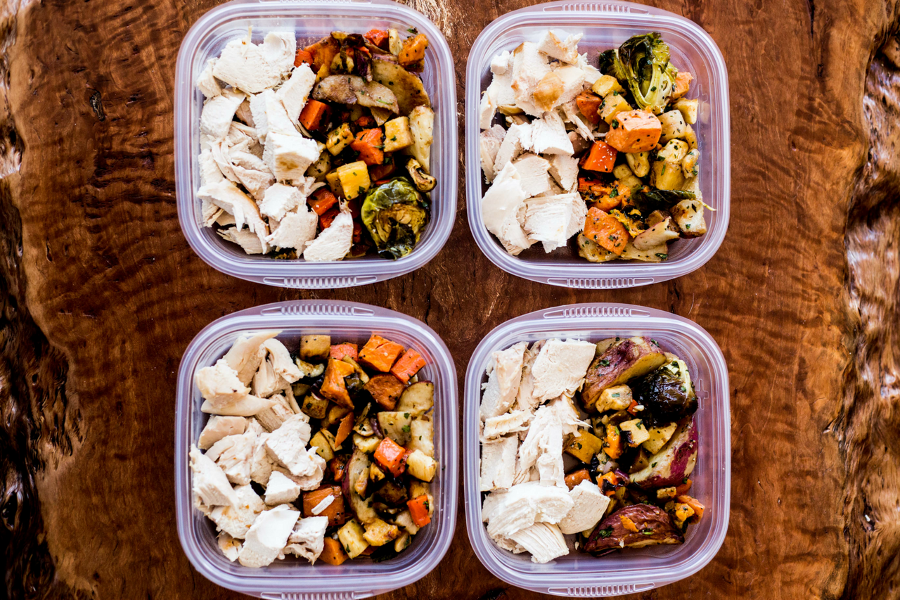 Easy Meal Prepping One Pan Chicken Bake