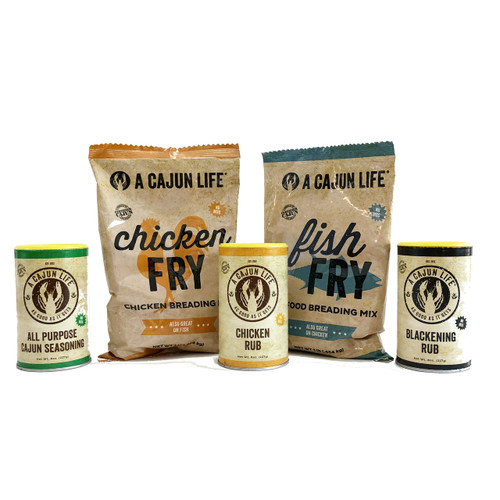 A CAJUN LIFE® Best Sellers Pack
