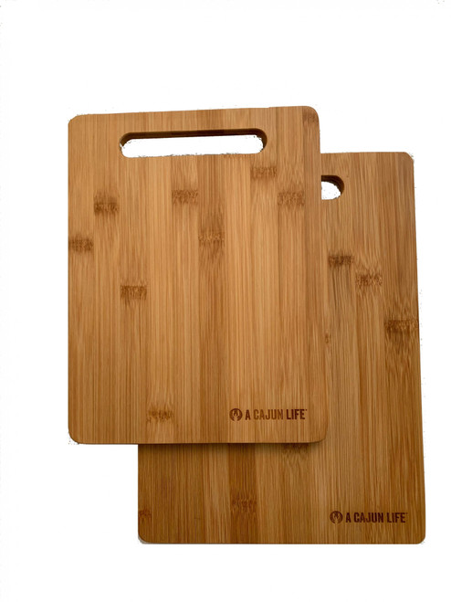 A CAJUN LIFE® Bamboo Cutting Board