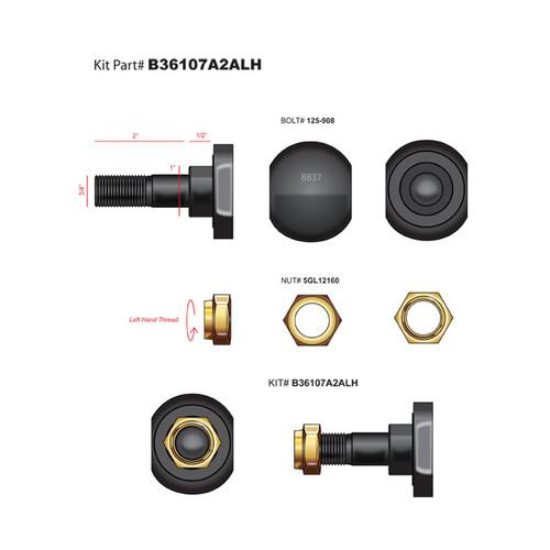 Blade Bolt Kit - Servis / Rhino, For Models: Saturn 5, 6, 7 & 8 Gyro & 140. LH