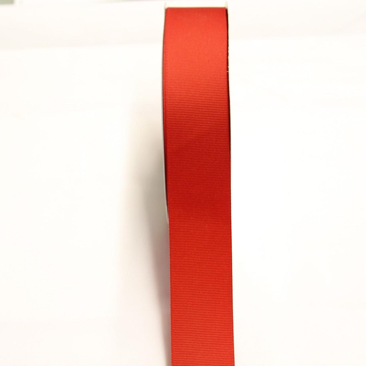 "RED 1/"" GROSGRAIN RIBBON"