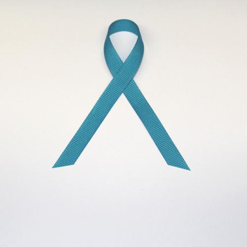 """3/8"""" Grosgrain Ribbon Turquoise Blue"""