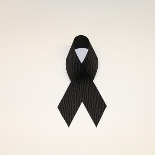 "7/8"" Grosgrain Ribbon Black"