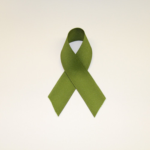 "Size     : 7/8"" Color    : Sage Green Type    : Grosgrain Length : 50 yard/spool"
