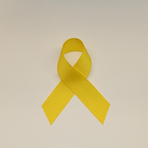 "Size     : 7/8"" Color    : Yellow Type    : Grosgrain  Length : 50 yard/spool"