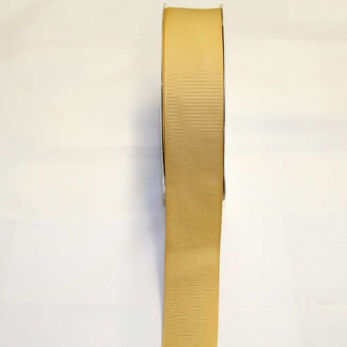 "Size     : 1 1/2"" Color   : Antique Gold Type    : Grosgrain Ribbon Length : 50 yard/spool"