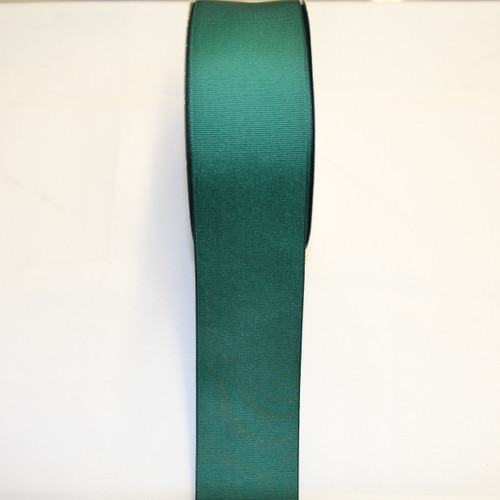 "Size     : 2 1/4"" Color    : Hunter Green Type    : Grosgrain Length : 50 yard/spool"