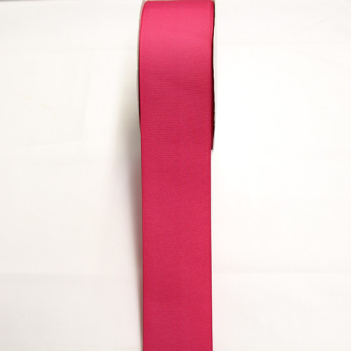 "Size     : 2 1/4"" Color    : Hot Pink Type    : Grosgrain Length : 50 yard/spool"