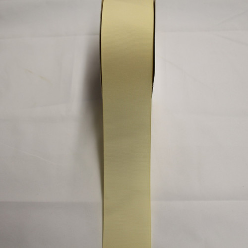 "Size     : 2 1/4"" Color    : Ivory Type    : Grosgrain Length : 50 yard/spool"