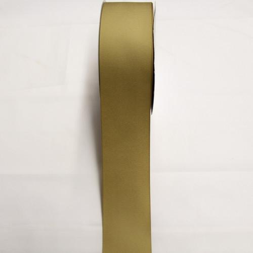"Size     : 2 1/4"" Color    : Kahki Type    : Grosgrain Length : 50 yard/spool"