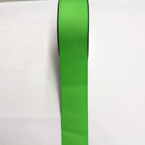 "Size     : 2 1/4"" Color    : Lime Green Type    : Grosgrain Length : 50 yard/spool"
