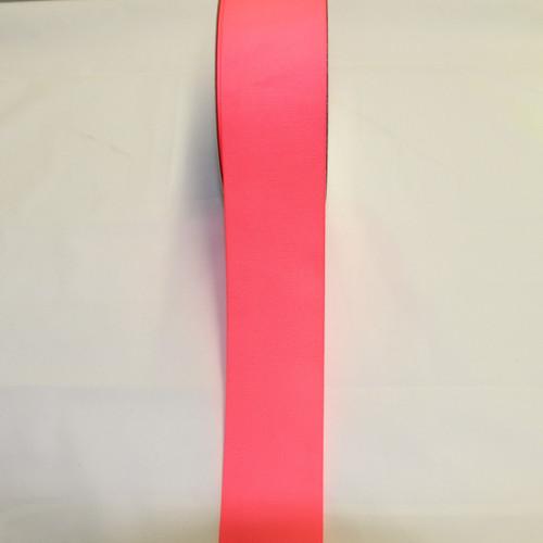 "Size     : 2 1/4"" Color    : Neon Pink Type    : Grosgrain Length : 50 yard/spool"