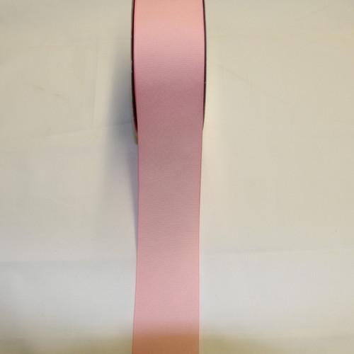 "Size     : 2 1/4"" Color    : Pink Type    : Grosgrain Length : 50 yard/spool"