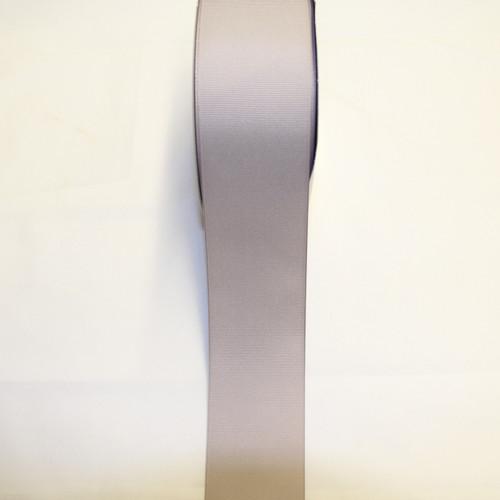 "Size     : 2 1/4"" Color    : Silver Type    : Grosgrain Ribbon Length : 50 yard/spool"