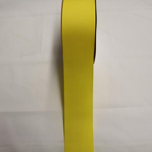 "Size     : 2 1/4"" Color    : Yellow Type    : Grosgrain Ribbon Length : 50 yard/spool"