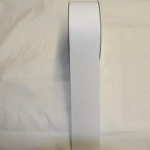 """2 1/4"""" Grosgrain Ribbon White"""