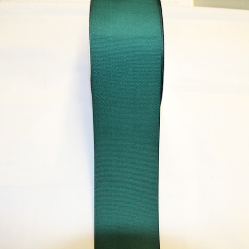 "Size     : 3"" Color    : Hunter Green Type    : Grosgrain Length : 50 yard/spool"
