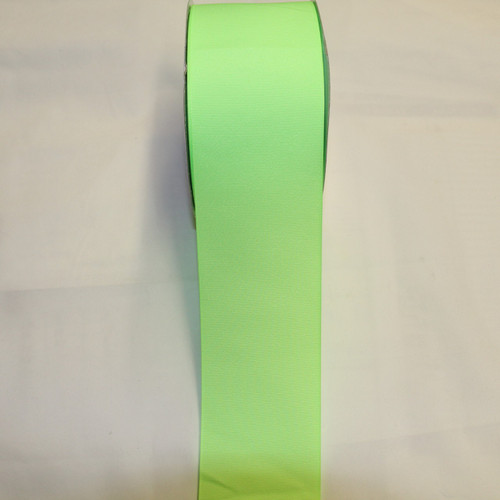 "Size     : 3"" Color    : Neon Lime Type    : Grosgrain Length : 50 yard/spool"