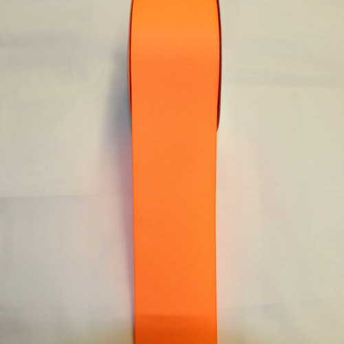 "Size     : 3"" Color    : Neon Orange Type    : Grosgrain Length : 50 yard/spool"