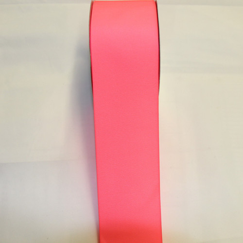 "Size     : 3"" Color    : Neon Pink Type    : Grosgrain Length : 50 yard/spool"