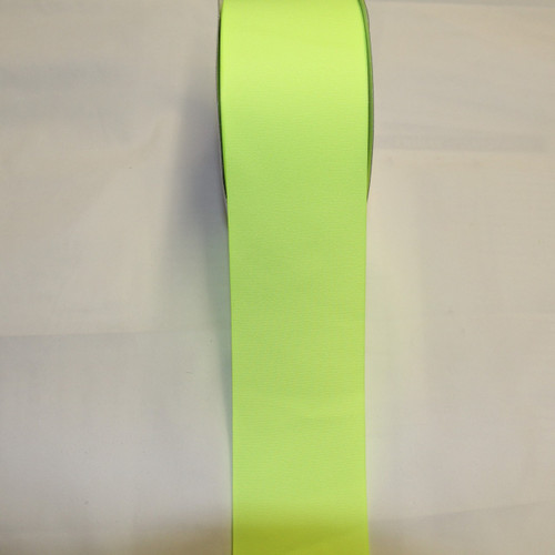 "Size     : 3"" Color    : Neon Yellow Type    : Grosgrain Length : 50 yard/spool"