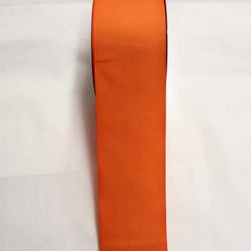 "Size     : 3"" Color    : Orange Type    : Grosgrain Length : 50 yard/spool"