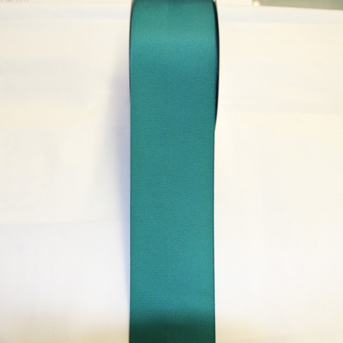 "Size     : 3"" Color    : Teal Type    : Grosgrain Length : 50 yard/spool"