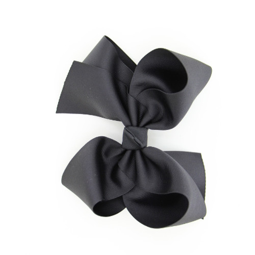 "Item no.        : egch, Size              : 7.5""X6""   Color            : Black,   Center          : Cone,   Ribbon Size : 2 1/4""  Type of Clip : French Clip Made in USA"