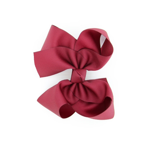 """Item no.        : egch, Size              : 7.5""""X6"""" Color            : White Center          : Cone Ribbon Size : 2 1/4""""  Type of Clip : French Clip Made in USA"""