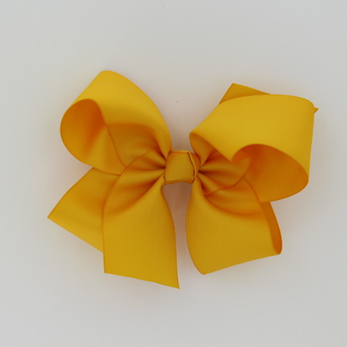 "Item no         : egch, Size              : 7.5""X6"" Color            : Lt. Gold Center          : Cone Ribbon Size : 2 1/4""  Type of Clip : French Clip   Made in USA"