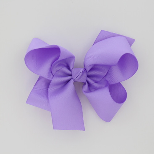 "Item no         : egch, Size              : 7.5""X6"" Color            : Lavender Center          : Cone Ribbon Size : 2 1/4""  Type of Clip : French Clip   Made in USA"