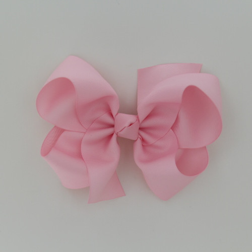 "Item no         : egch, Size              : 7.5""X6"" Color            : Pink Center          : Cone Ribbon Size : 2 1/4""  Type of Clip : French Clip   Made in USA"
