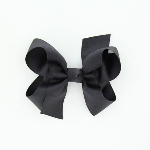 "Item no.: dgch, Size: 6""X5"", Color: Black,  Ribbon Size: 1 1/2"", Center: Cone,   Type of Clip: French Clip         MADE IN USA"
