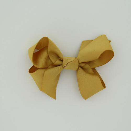 "Item no.: dgch, Size: 6""X5"", Color: Antique Gold,  Ribbon Size: 1 1/2"", Center: Cone,   Type of Clip: French Clip        MADE IN USA"